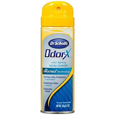 Dr. Scholls Odor-X Odor Fighting Spray Powder 4.7 Oz