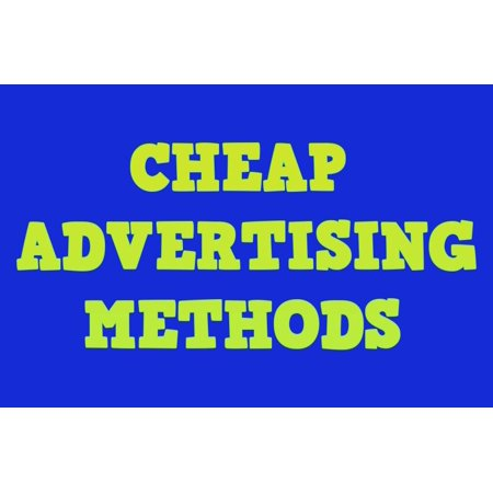 Free & cheap online sales making advertising methods -