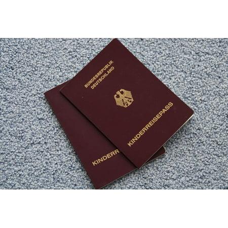 LAMINATED POSTER Pass Child Holiday Passports Travel Children Poster Print 24 x 36](Kids Passports)