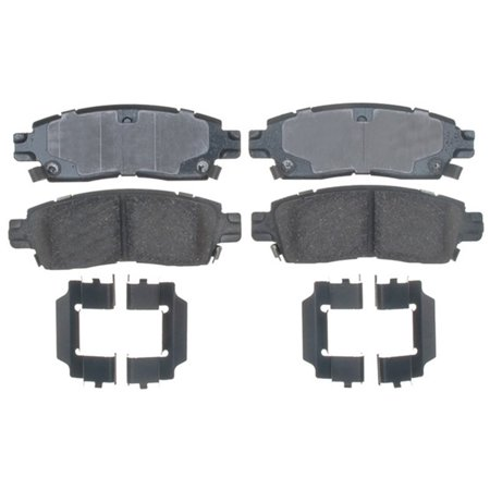 - AC Delco 17D883CH Brake Pad Set, Ceramic OE Replacement