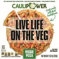 CAULIPOWER 10 in. Gluten-Free Cauliflower Veggie Pizza