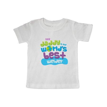 My Daddy is the World's Best Welder Baby T-Shirt ()