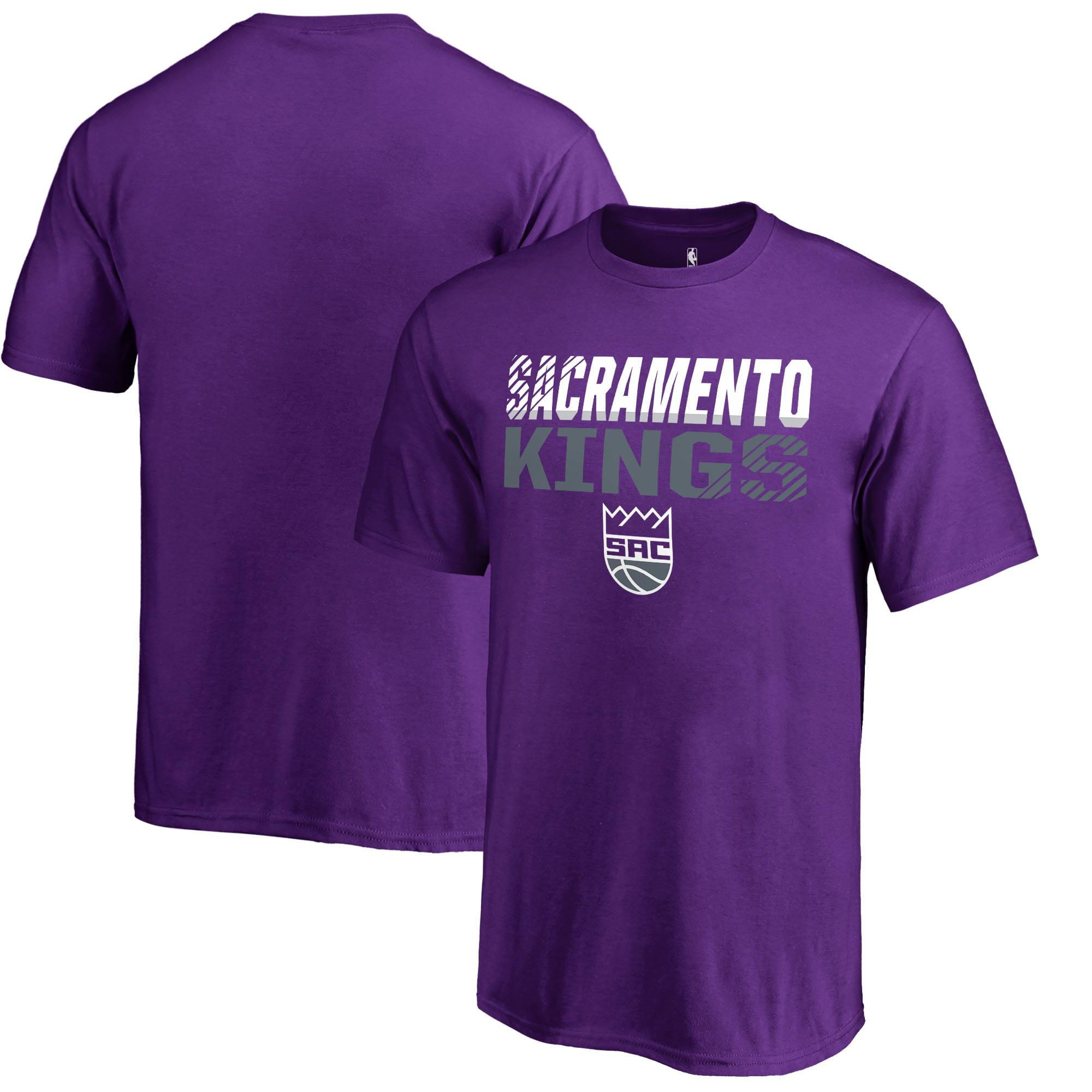 Sacramento Kings Fanatics Branded Youth Fade Out T-Shirt - Purple