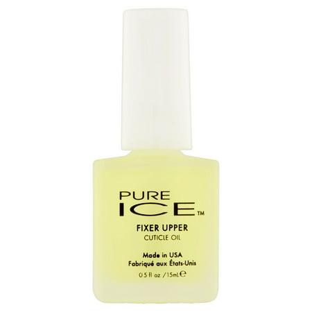 Estee Pure Nail Polish ((4 Pack) Pure Ice 1257 Fixer Upper Cuticle Oil Nail Polish, 0.5 fl)