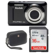 Best Digital Cameras - Kodak FZ53 Digital Camera (Black) with 16GB SD Review