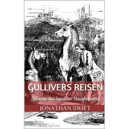 Gullivers Reisen. Vierter Band - Reise in das Land der Hauyhnhnms (Illustriert) - eBook (Gullivers Land Halloween)