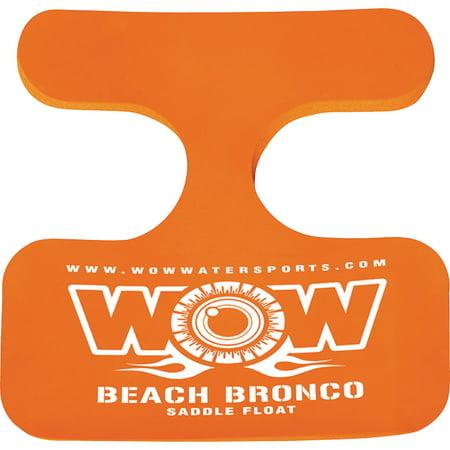 WOW Saddle Beach Bronco Single Person Foam Float Seat