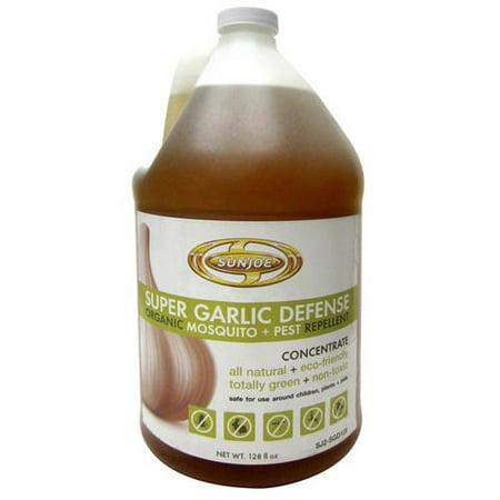 - Sun Joe Super Garlic Defense Organic Mosquito and Pest Repellent, 128 oz