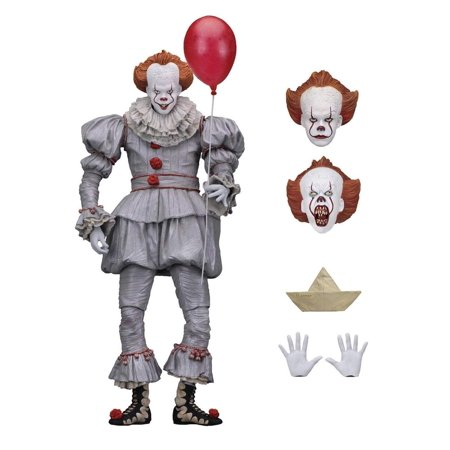 "IT - 7"" Scale Action Figure - Ultimate Pennywise (2017)"