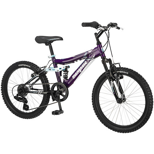 "20"" Mongoose Girls' Ledge 2.1 Mountain Bike"