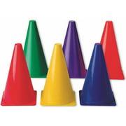 """9"""" Spectrum Cones, Set of 6"""