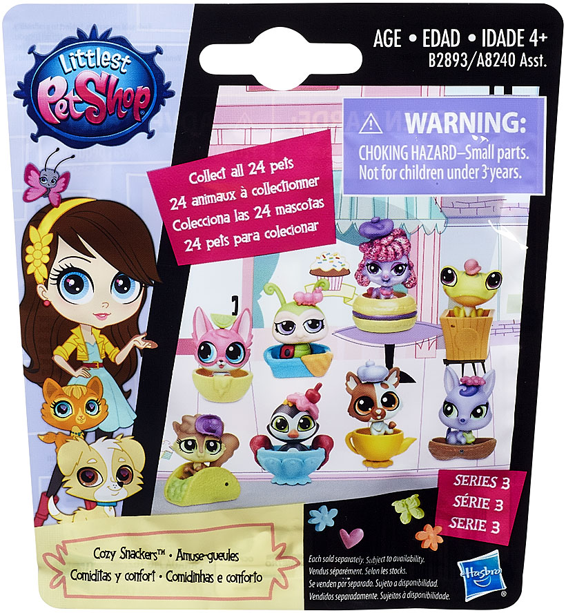 Littlest Pet Shop 2015 Series 3 Mystery Pack [Cozy Snackers]
