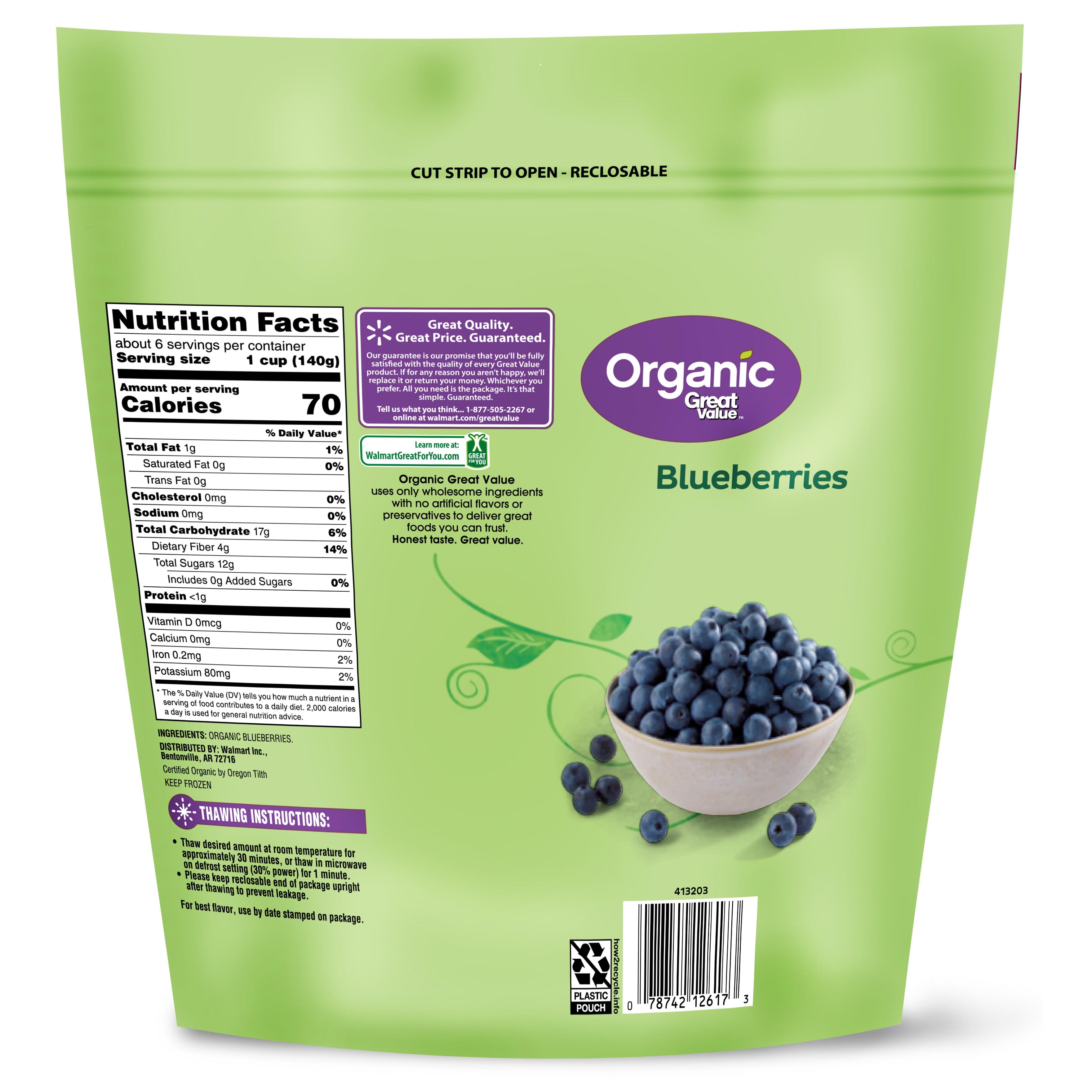 d17c7fd9a55 Great Value Organic Frozen Blueberries
