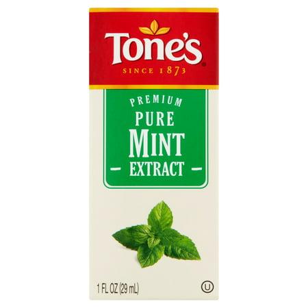 Tone's Premium Pure Mint Extract, 1 fl oz