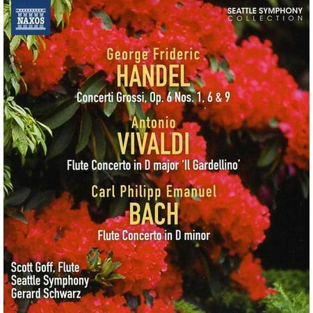 Concerto Grossi Opus 6: Nos 1 & 6 & 9 / Flute Cto