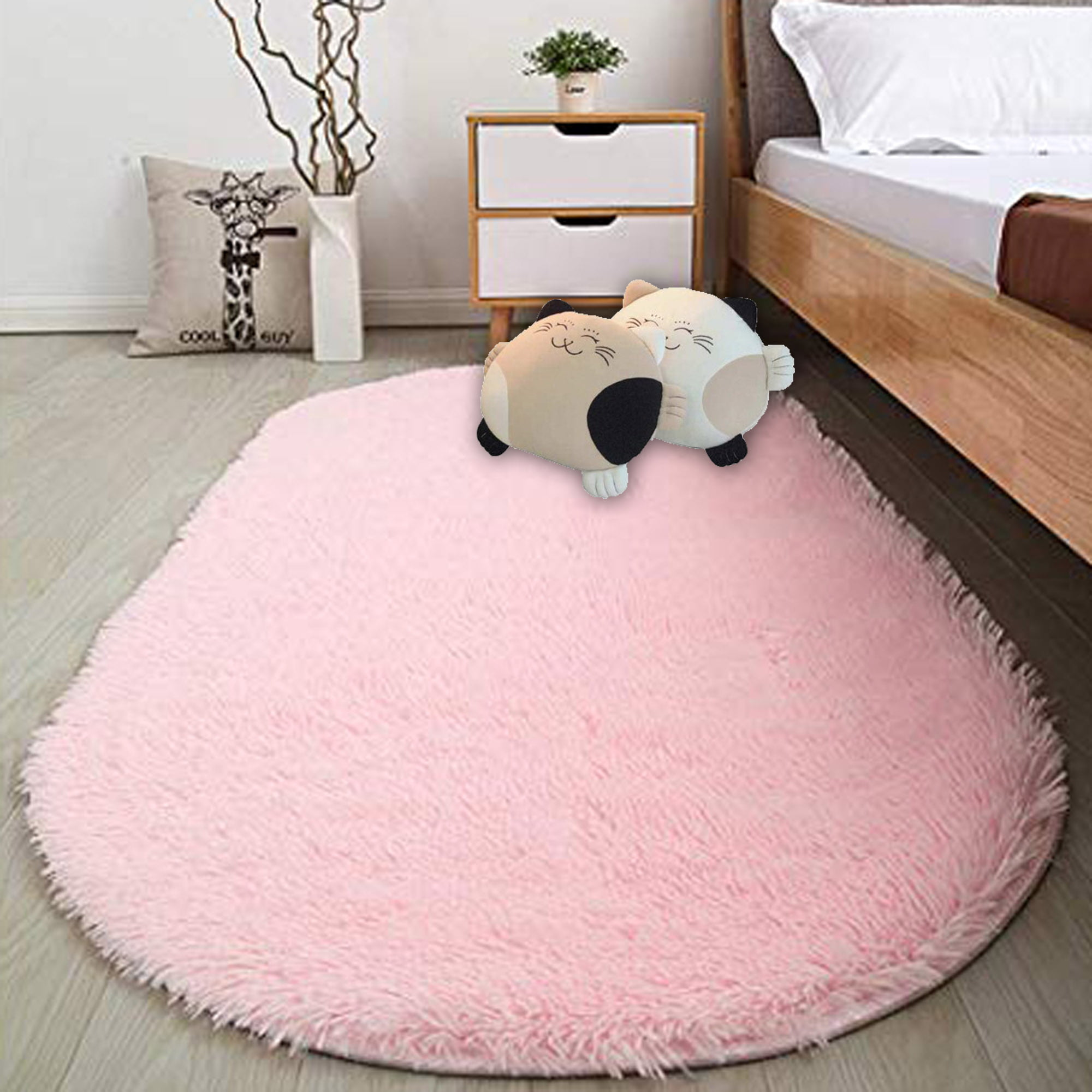 80 X 165cm Fluffy Area Rugs For