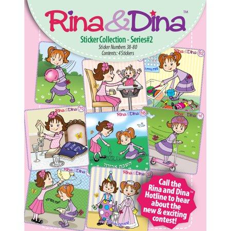 Rina   Dina 4 Pack Sticker Series  2