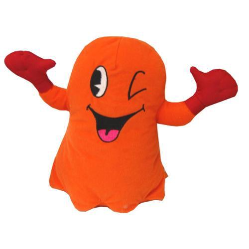 """Pac-Man 10"""" Plush Orange Ghost"""