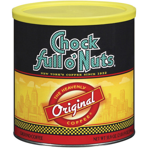 00139 Office Snax Chock full o' Nuts Coffee Ground - Medium - 1 Each
