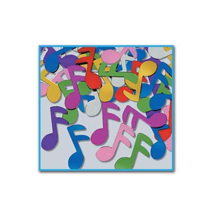 Musical Notes Decorations (Fanci-Fetti Multi-Colored Musical Notes Confetti Celebration Party)