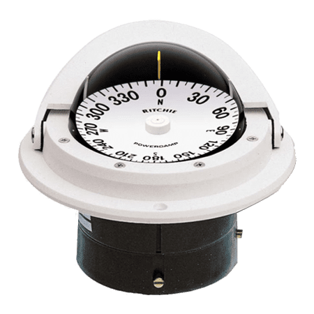 - RITCHIE COMPASSES F-82W Compass, Flush Mount, 3