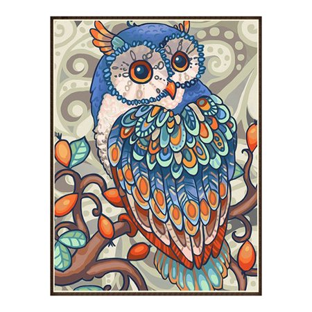 5D Full Diamond Embroidery Paintings Kits Colorful Home Wall Decoration DIY Cross-Stitch Canvas Painting