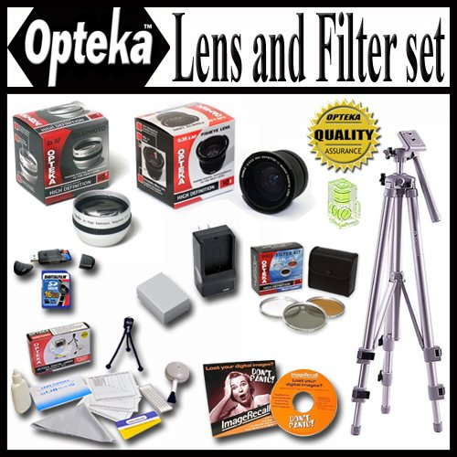 Opteka Ultimate Accessory kit for Canon Powershot G11 G10...