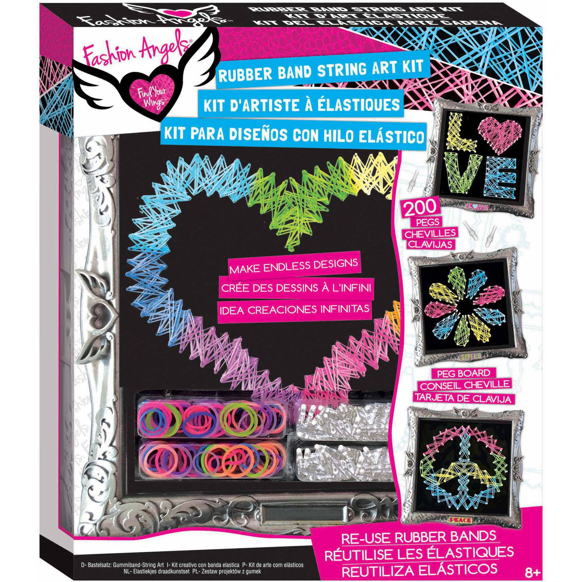 Fashion Angels Rubber Band String Art Kit