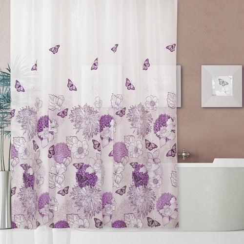 Dainty Home Garden Shower Curtain Set
