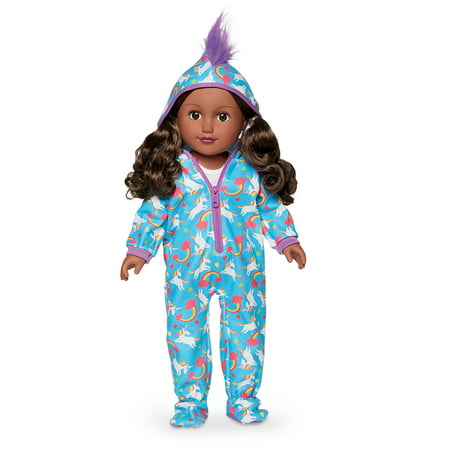 Girls Sleepover Set - My Life As 18-inch Sleepover Host Doll, African American