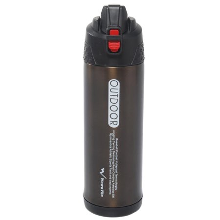 Stainless 25-ounce/750ml Thermos Double Walled Vacuum Flask, Stainless Steel Travel Mug, Drink Bottle, Stainless Steel Travel Mug,camping Bottle, Outdoor Vacuum Bottle, Sports Travel Mug, Brown Cleveland Browns Travel Mug