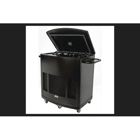Patio Pal - Phoenix Patio Pal Portable Multi-Purpose Cooler 120 volts 1,000 sq. ft. Black with Copper