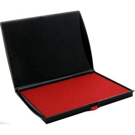 Shiny Large Stamp Pad, Felt, Plastic Cover, S4, 5 x (Issue Stamp Cover)