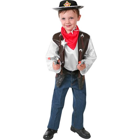 Cowboy Playset Childrens Costume](Cow Boy Costumes)