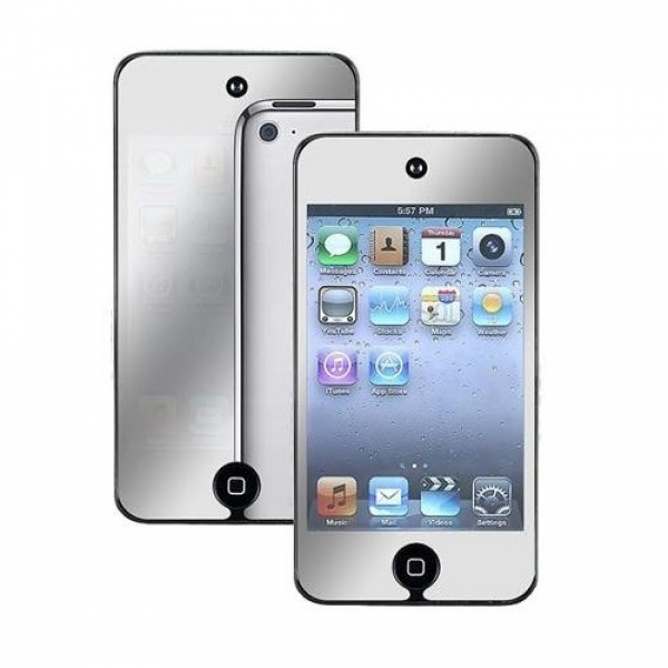 2x Mirror Screen Protector For Apple iPod Touch 4th Gen