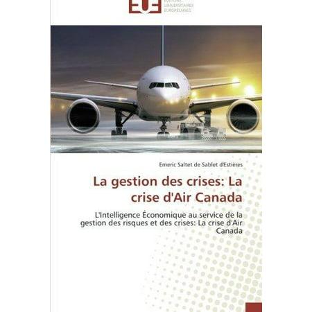 La Gestion Des Crises: La Crise D'Air Canada - image 1 of 1