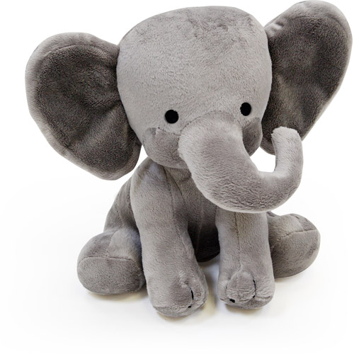 Lambs & Ivy Animal Choo Choo Express Plush Elephant-Dunphy