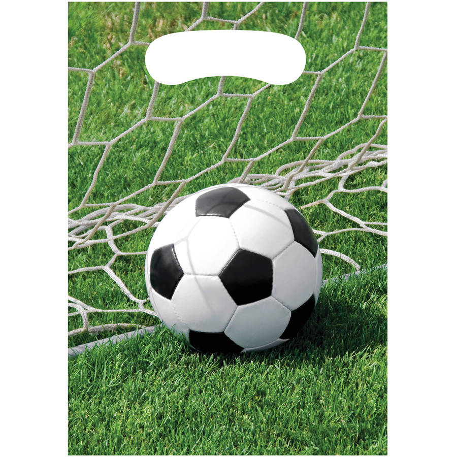 Sports Fanatic Soccer Loot Bags, 8pk