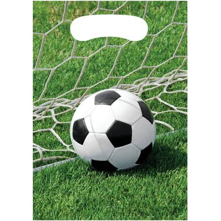 Sports Fanatic Soccer Loot Bags, 8pk