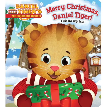 Merry Christmas, Daniel Tiger! (Board Book) (Daniel Tiger Dress)