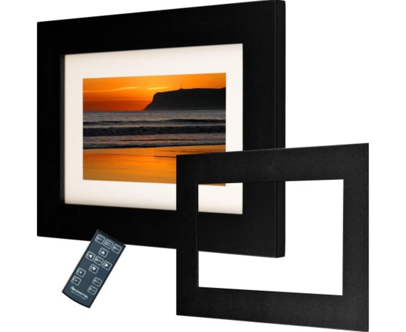 Pandigital Panimage Pi7002aw 7 Inch Analog Digital Picture Frame Black