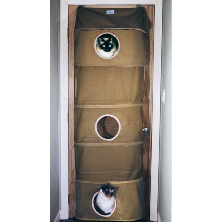 Cozy Climber Indoor Cat (Kittywalk Cozy Climber Cat House, Taupe, 13