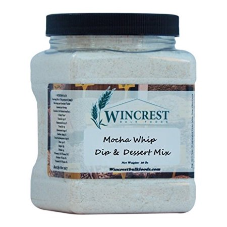 Mocha Whip Dip & Dessert Mix - 20 Oz Tub