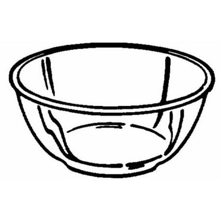 Dinnerware 6001043 Pyrex Pre ware 4 qt Mixing Bowl