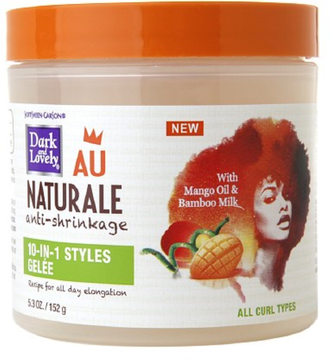 Dark and Lovely Au Naturale 10-In-1 Styles Gelee 5.3 oz
