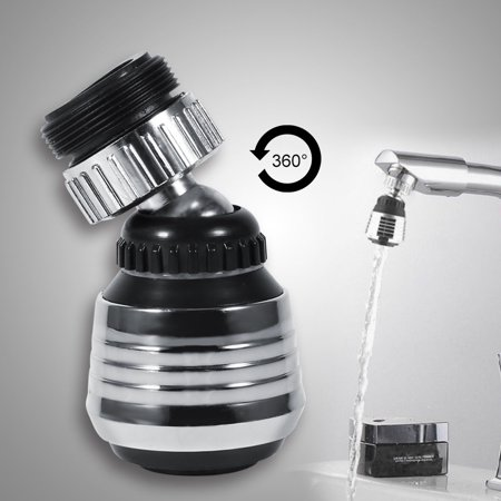360 Degree Rotate Kitchen Faucet Nozzle Sprayer Head Water