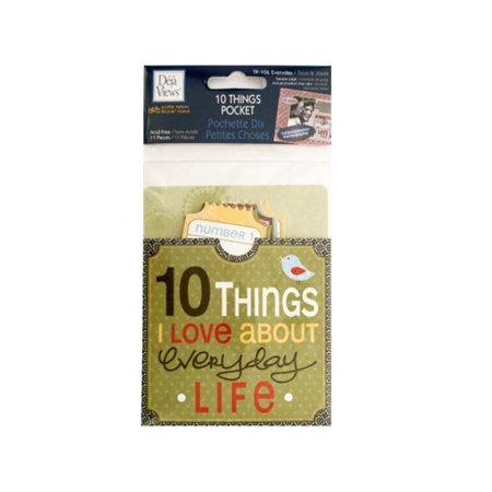 Bulk Buys CG591-24 10 Things I Love About Everyday Life Journaling - Bulk Journals