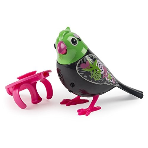digibirds singing electronic pet bird - raven