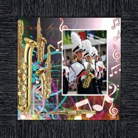 Alto Saxophone, Marching or Concert Band Personalized Picture Frame, 10X10, 3507
