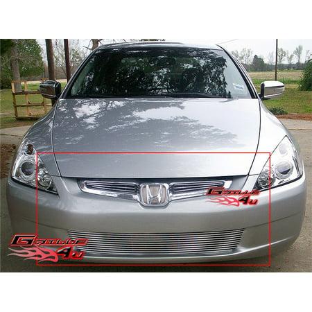 Honda Accord Billet Grille - Fits 2003-2004 Honda Accord Sedan Billet Grille Combo #H67956A
